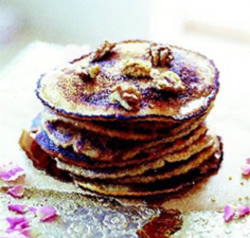 Pannekaker med lønnesirup