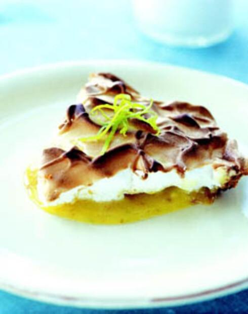 Sweet sugar love lime pie med smulebunn