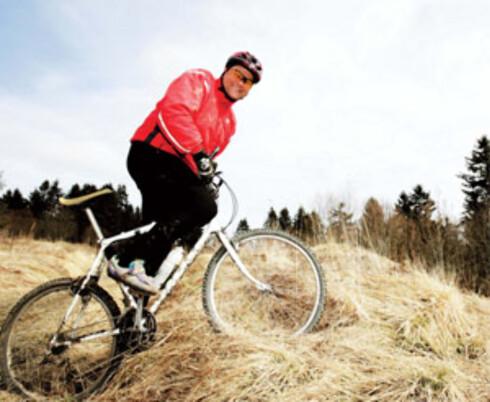 Kai Nordhagen begynte først å slanke seg etter at han havnet på sykehus.