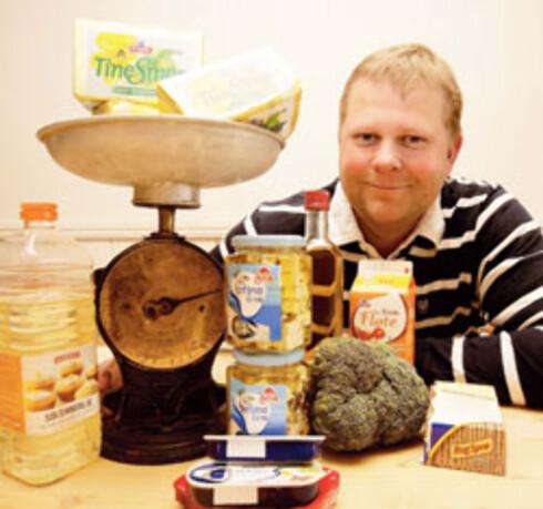 Kai Nordhagen er storfornøyd med å ha fått en diett som tillater både smør og olje, så lenge han balanserer kostholdet riktig.