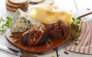 Ovnsbakte fiken med krydderhonning til ostfatet
