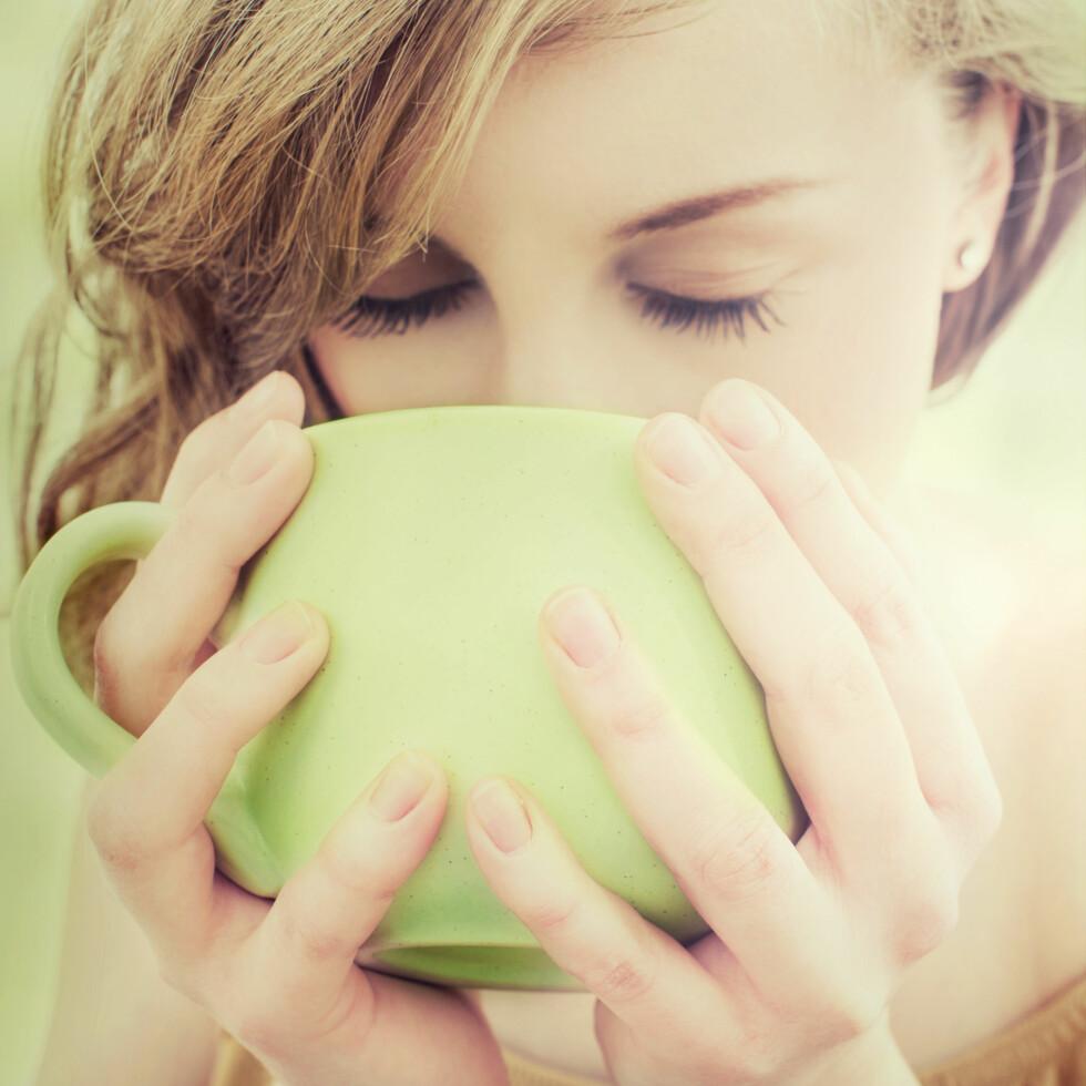 DEILIG HØSTDRIKK: Te er ikke bare godt og varmende, det er veldig sunt også! Foto: laszlolorik - Fotolia