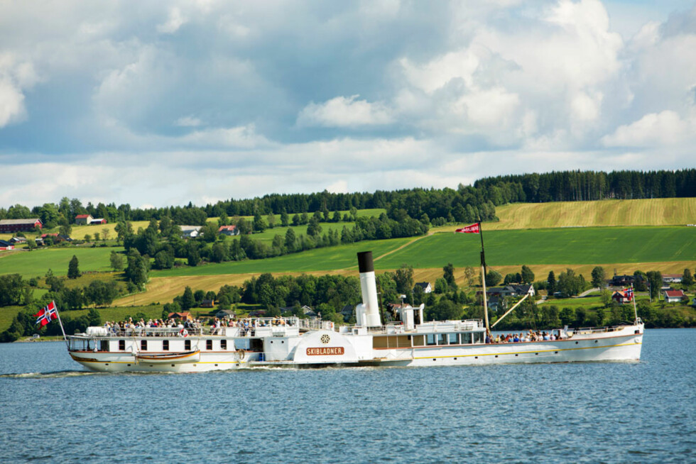Mjøsas hvite svane: Skibladner er verdens eldste hjuldamper i rutefart.
