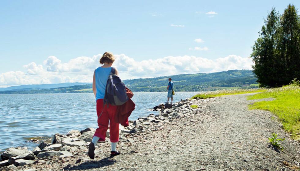 Mjøspromenaden: Fred og ro, og spasertur i akkurat ditt tempo.