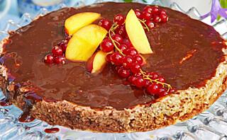 Sjokoladekake med karamellkrem