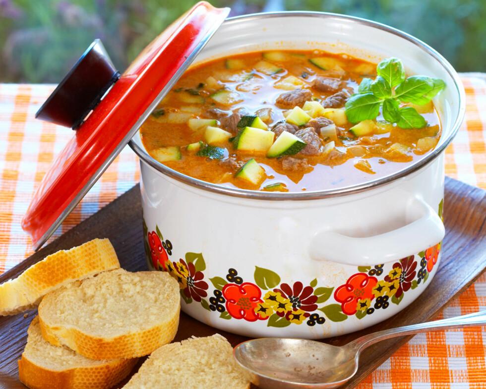 Italiensk kjøttsuppe