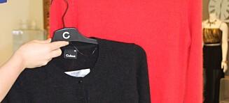 Sjekk merkelappen før du kjøper genser