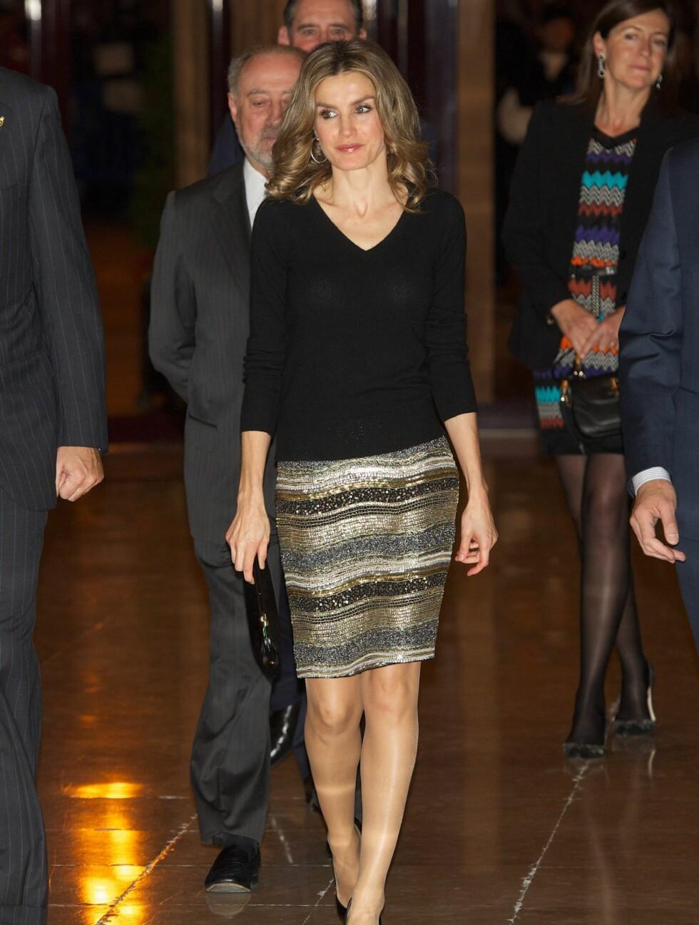 Kronprinsessen av Spania, Letizia Foto: All Over Press