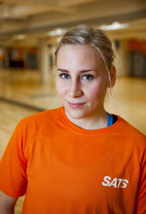 <strong>EKSPERTEN:</strong> Helene Vabø Thorsen er instruktør og personlig trener (spesialist) ved SATS Storo i Oslo.  Foto: Per Ervland