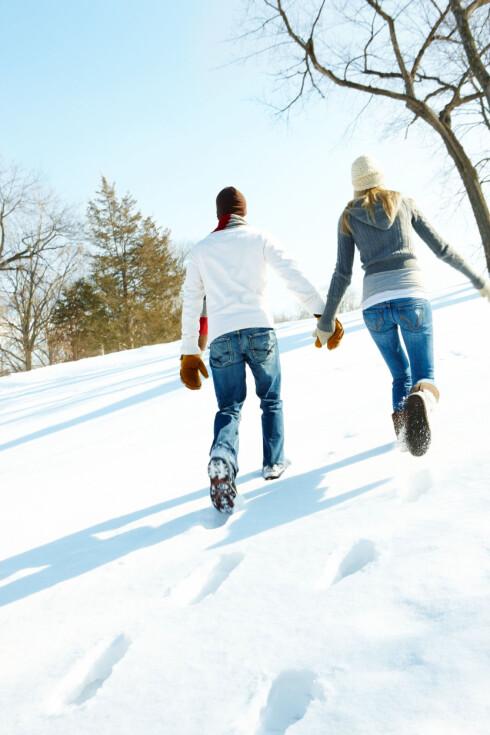 SNU RYGGEN TIL DEMENS: Med en rask gåtur minst tre ganger i uka, kan du styre unna hukommelsesproblemer og demens.