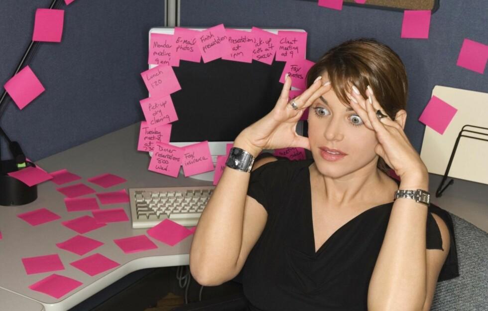 HUSKER DU DÅRLIG? Hos enkelte svikter hukommelsen allerede i 30-årene. Da gjelder det å forebygge. Visste du at 1,5 time trening i uka kan faktisk holde demensen borte? Foto: Getty Images/Comstock Images