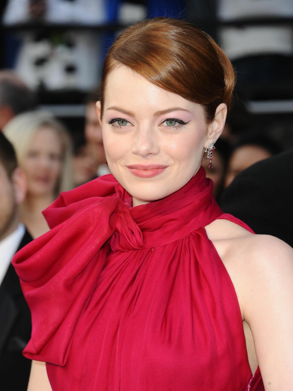 Los Angeles, CA - 02/26/2012 - The 84th Academy Awards - Arrivals, held at the Hollywood & Highland Centre .  -PICTURED: Emma Stone -PHOTO by: Kyle Rover/startraksphoto.com -KRL151431.JPG  Startraks Photo New York, NY  For licensing please call 212-414-9464 or email sales@startraksphoto.com / ALL OVER PRESS / ALL OVER PRESS Foto: All Over Press