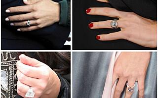 Trendy med STORE forlovelsesringer