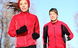 Varm opp før du jogger i vinterkulda