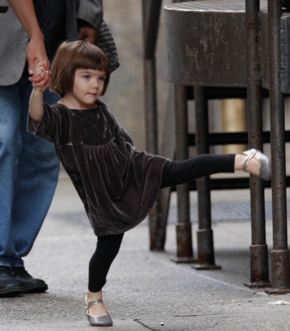 Suri Cruise som yngre. Den gang var hun også veldig trendy. Foto: All Over Press