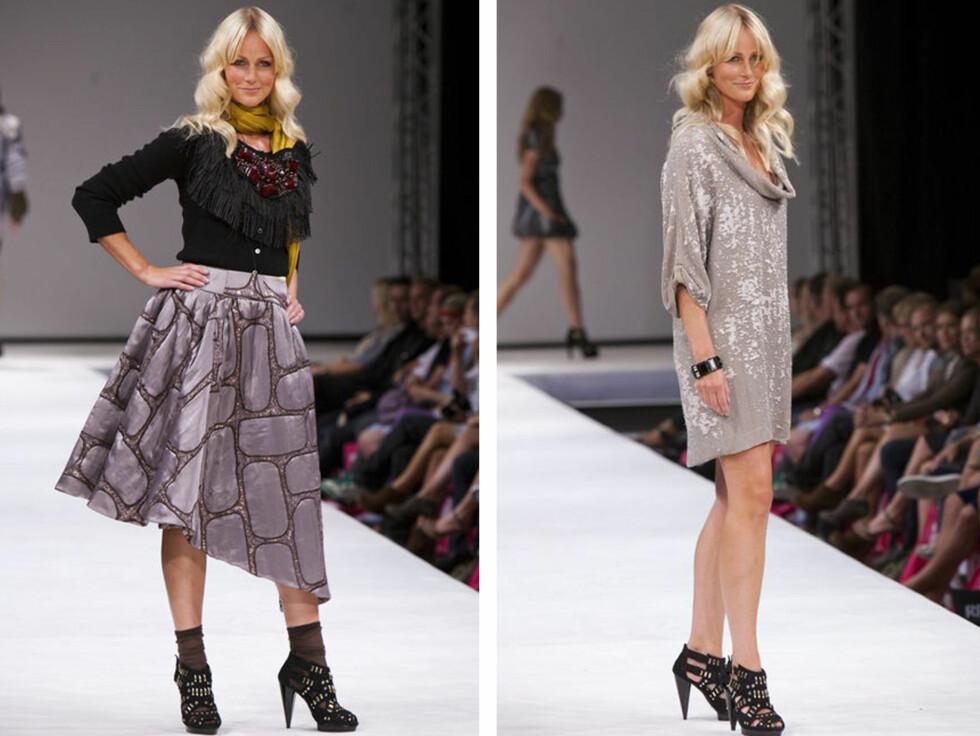 TILBAKE PÅ CATWALKEN: I 2010 var Cathrine Knudsen tilbake på catwalken under Oslo Fashion Week. Foto: Per Ervland