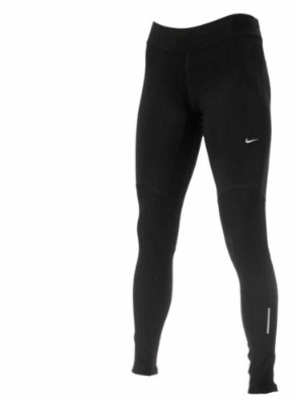 Nike Thermal løpetights for vinter og høstbruk. 649 kroner fra Gmax.no.