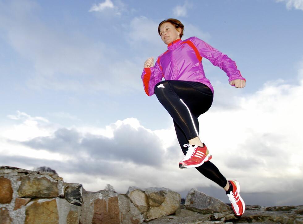 EKSPERTEN: Hanne Lyngstad (på bildet) er tidligere toppidrettsutøver innen løping, og jobber nå som tech rep og løpeekspert i Adidas.  Foto: Adidas