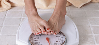 Ikke hig etter å bli for tynn - det kan skade skjelettet ditt