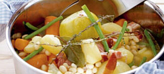 Toscansk bønnegryte med landbrød