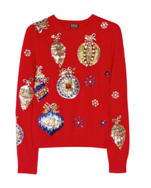 INSPIRERT AV JULEPAPIR: Maria-genseren fra Meadham Kirchhoff.  Foto: Produsenten