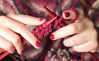 Har du strikket til julemarkedet som ble avlyst?