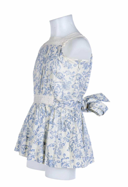 Kjolen sett fra siden.