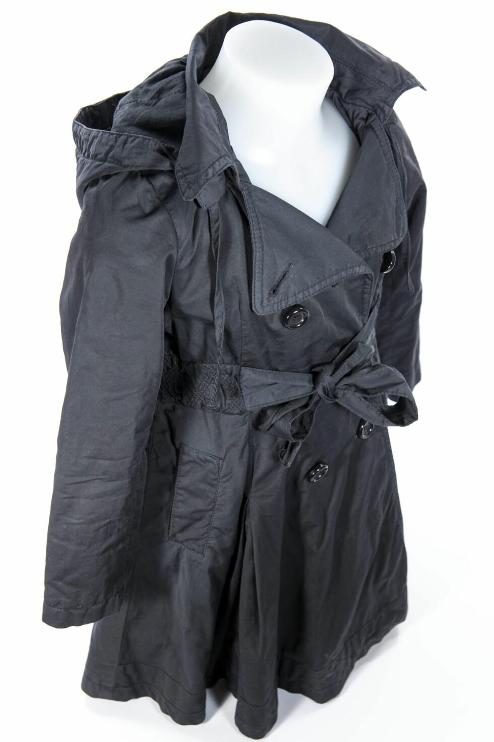 Kåpen sett fra siden.