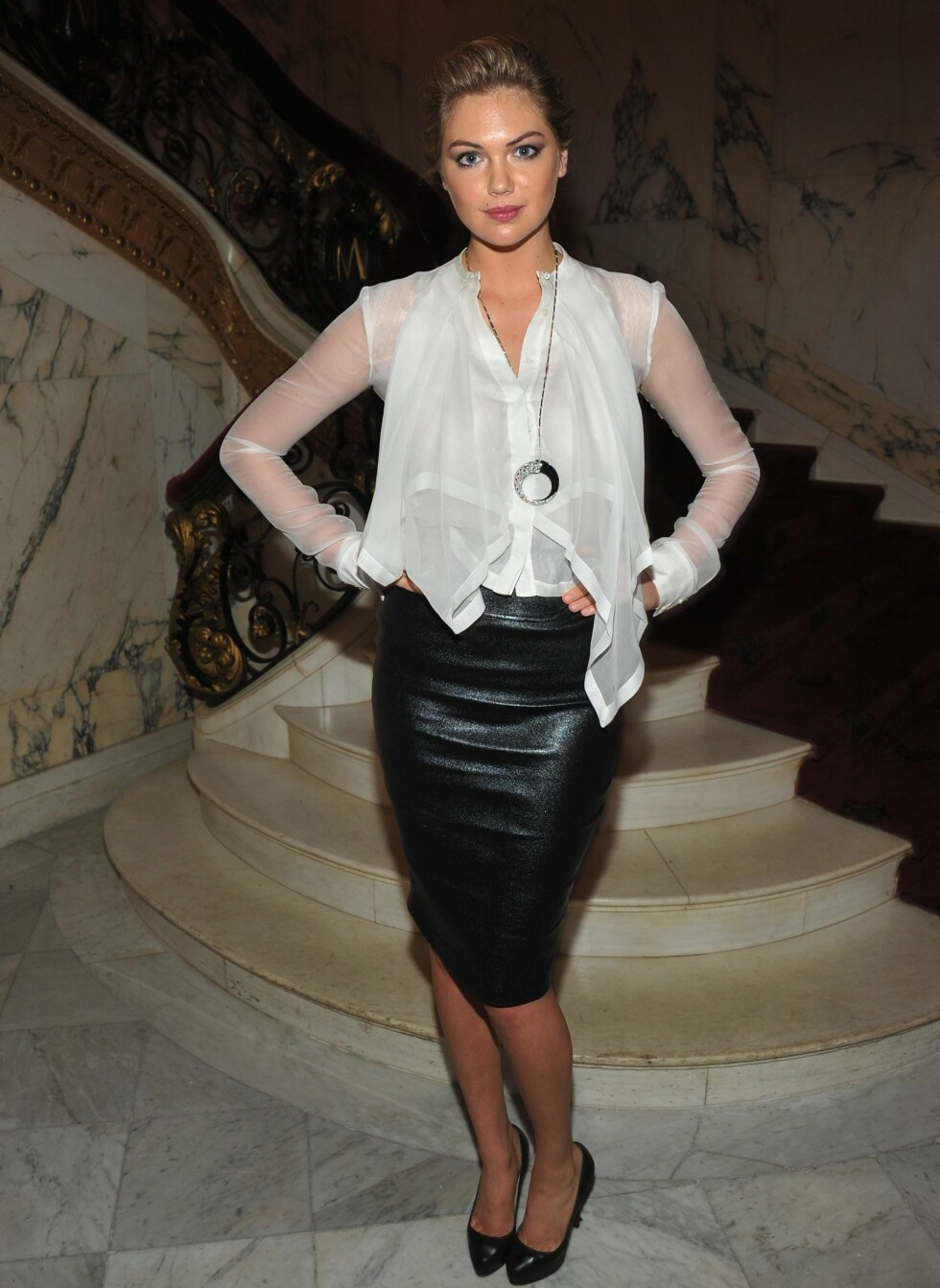 Kate er kjent for sine runde former og forførende stil. Foto: All Over Press