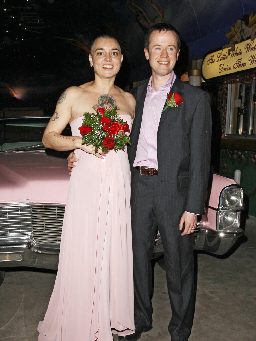 Sangstjerne Sinead OConnor giftet seg (2011) - for senere å skille seg fra Barry Herridge. Foto: All Over Press