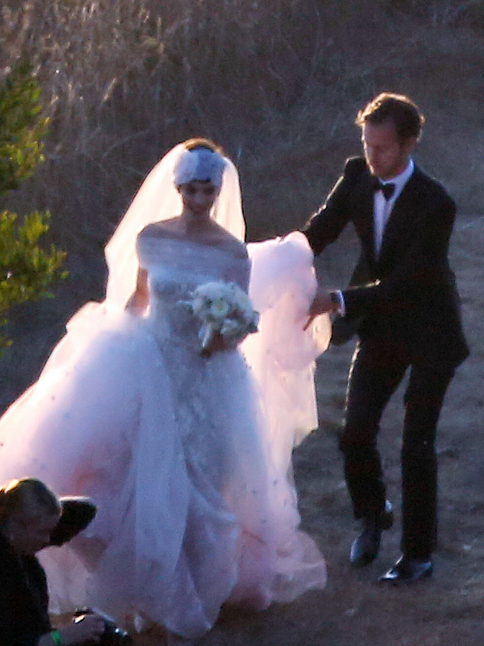 Skuespiller Anne Hathaway giftet seg med Adam Shulman i september.  Foto: All Over Press