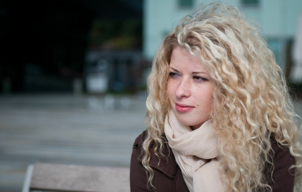 <strong>DET ER IKKE MEG, DET ER HÅRET MITT:</strong> Vektøkningen skyldes trolig ikke håret ditt. Foto: PantherMedia / Martin Novak