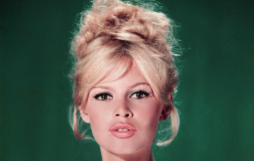 60-TALLSSTILEN: Brigitte Bardot var et av tidenes største sexsymbol.Vi gir deg sminketipsene for stilen. Foto: All Over Press
