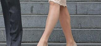 Er hudfargede strømpebukser helt ut?