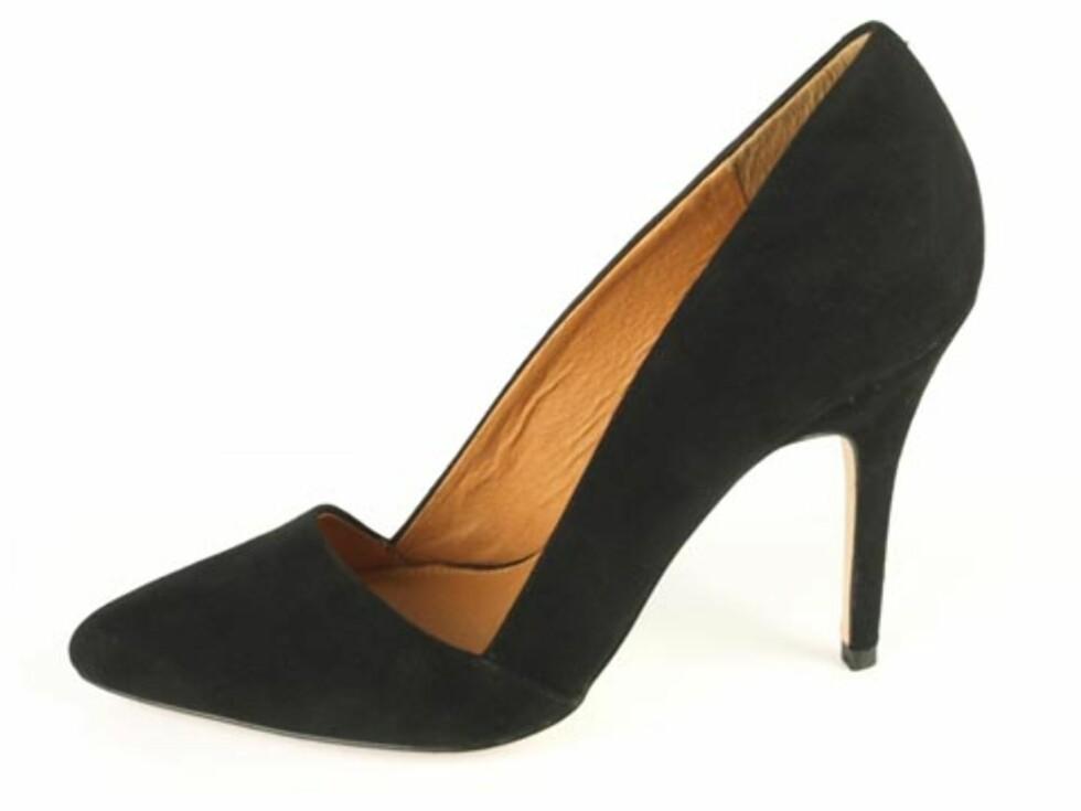 Spiss sko fra Buffalo. 749 kroner - Brandos.no.  Foto: Produsenten