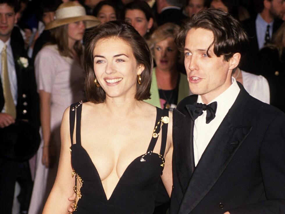 Liz Hurley og Hught Grant i 1994.  Foto: All Over Press