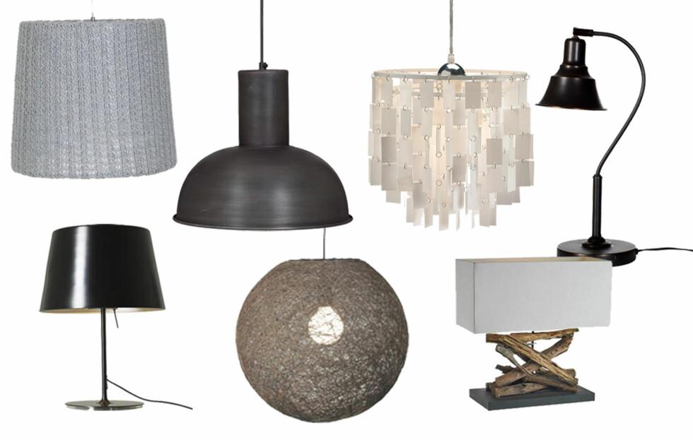 HØSTENS VAKRESTE LAMPER: – Lamper er husets smykker! I tillegg til å være lyskilder, fungerer de skulpturelt i rommet og kan utgjøre hele forskjellen, forteller Mai Eckhoff Morseth, redaktør i interiørmagasinet KK Living. Foto: Produsenten