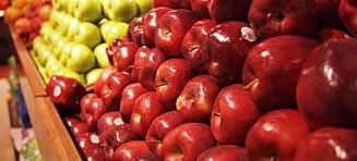 Derfor bør du velge røde epler