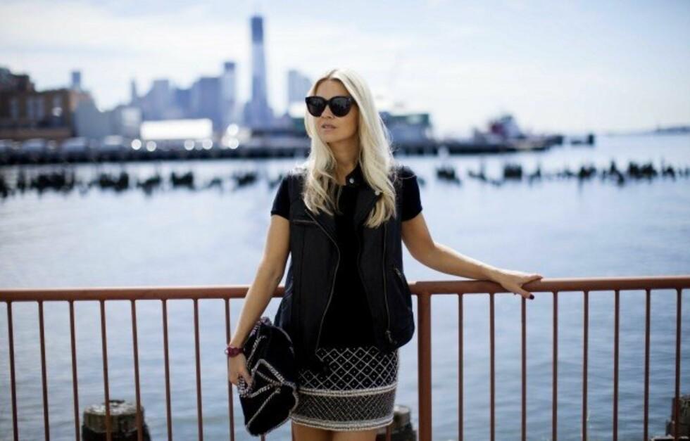 SILJE I NEW YORK: KKs moteredaktør, Silje Pedersen, elsker New York. Her får du hennes beste shoppingtips fra motebyen! Foto: Sara Johannessen