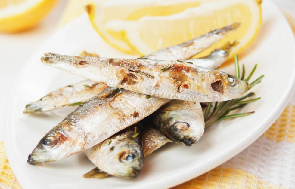 SPIS MER FET FISK: Fet fisk som sardiner og laks er velkjent for deres egenskaper til å fremme god hjernehelse, takket være innholdet av omega 3-fettsyrer. Se hva annet du bør spise lenger ned i saken! Foto: Thinkstick.com