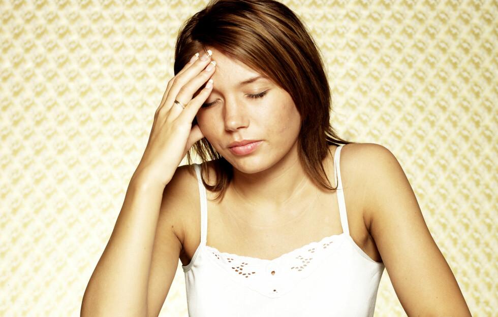 TETT I PAPPEN: Ta grep før du får bihulebetennelse. Foto: Colourbox