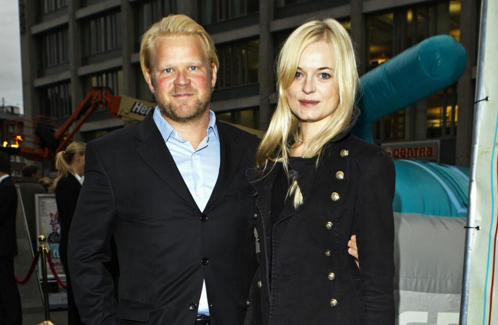 MØTTES PÅ SCENEN: Anders Baasmo Christiansen og skuespillerkjæresten Mariann Hole møttes på scenen.  Foto: All Over Press