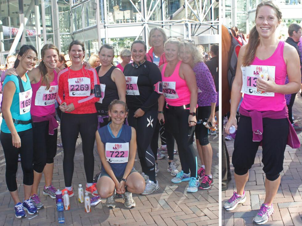 <strong>STARTET FACEBOOK-GRUPPE:</strong> Kristin Bråthen Alvim (30) og hennes venninner startet en gruppe på Facebook for å holde motivasjonen oppe. Nå trener de sammen flere ganger i uken. Foto: Tone Ruud Engen