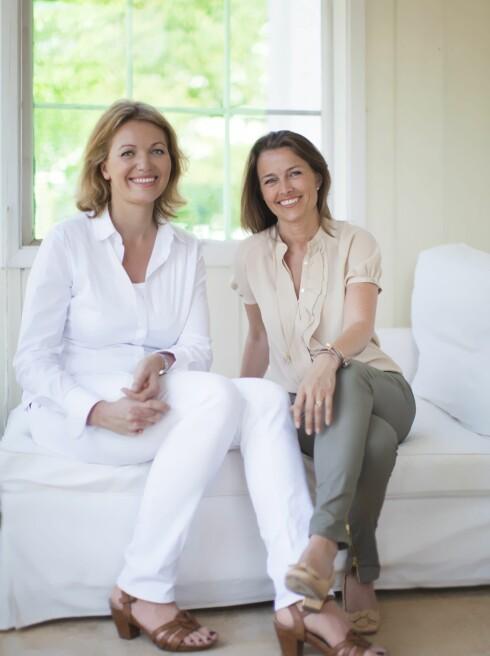 GRÜNDERNE: Marianne Loe Borchgrevink  og Margit Unander har, sammen med Vibeke Klemetsen, startet treningstøymerket Run&Relax, som lager eget treningstøy spesielt tilpasset kvinner.  Foto: Astrid Waller