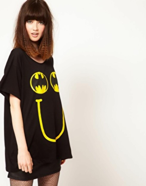 T-skjorte med Batman-motiv (kr 395, Asos.com). Foto: Produsenten