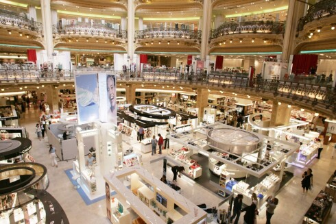 Galeries Lafayette. Foto: All Over Press
