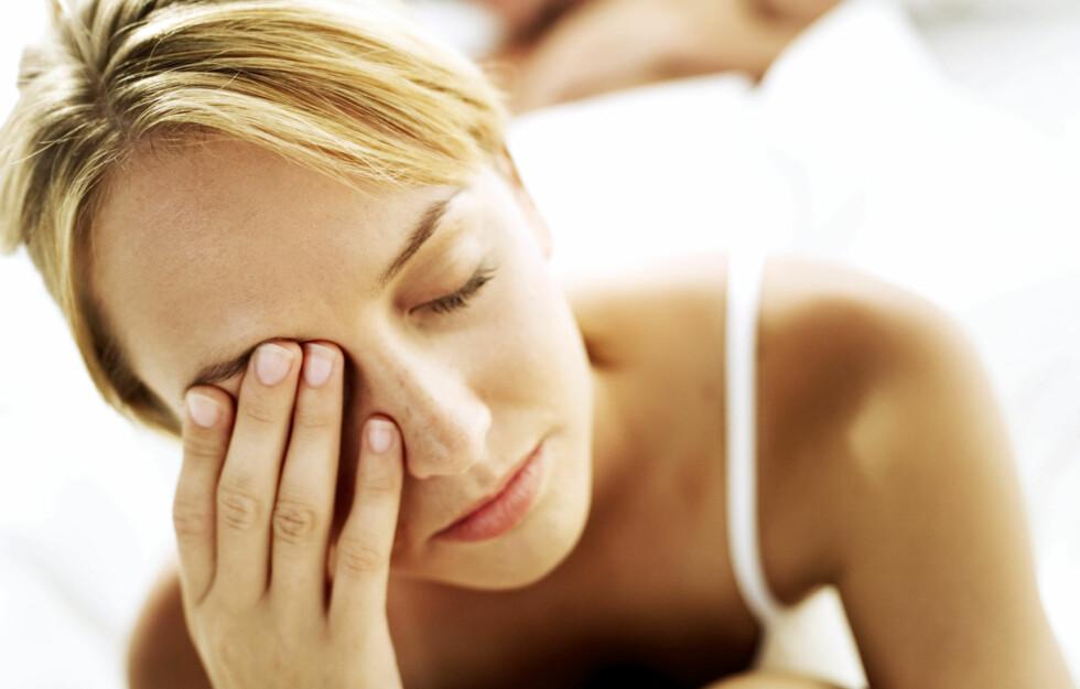 MINDRE TILTREKKENDE: Forskning viser at personer som sover for lite (fire timer og mindre per natt) blir oppfattet som mindre attraktive/tiltrekkende av andre.  Foto: Getty Images