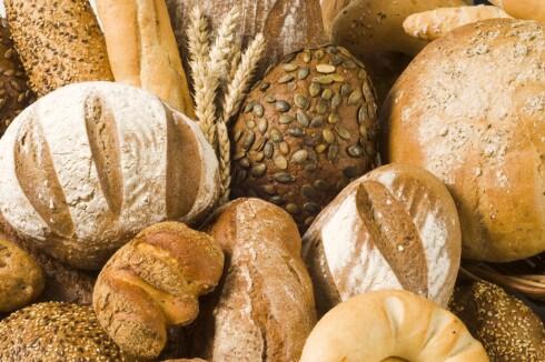BLIR DU OPPBLÅST? Da kan det være lurt å vurdere andre typer mel i brødet. Foto: Getty Images/iStockphoto