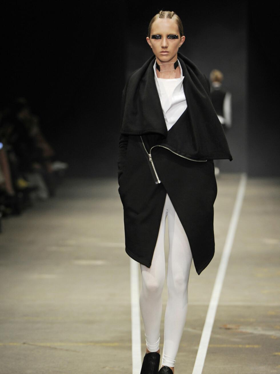 DAVID ANDERSEN: Hvitt og svart i skikkelig minimalistisk stil.  Foto: CFW