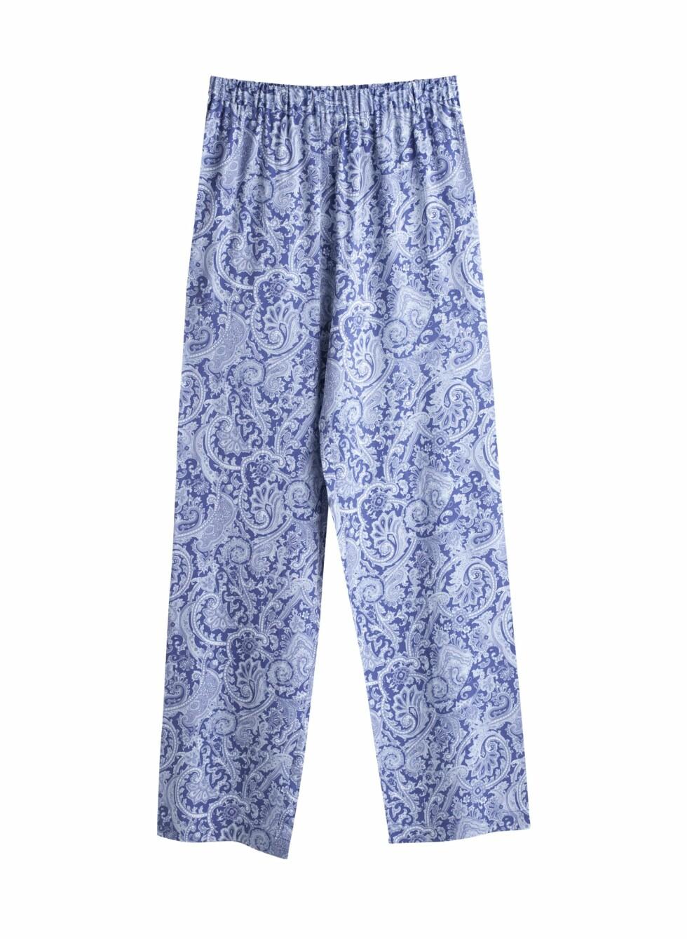 Vide bukser med mønster (kr 450, Weekday). Foto: Produsenten